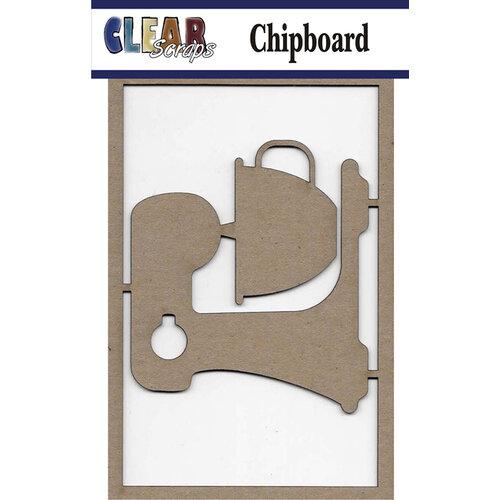 Clear Scraps - Chipboard Embellishments - Mixer