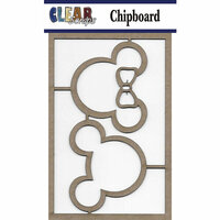 Clear Scraps - Chipboard Embellishments - Mouse 2