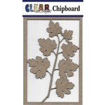 Clear Scraps - Chipboard Embellishments - Maple Branch
