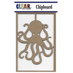 Clear Scraps - Chipboard Embellishments - Octopus