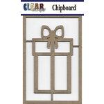 Clear Scraps - Chipboard Embellishments - Present