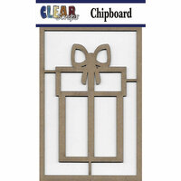 Clear Scraps - Chipboard Embellishments - Present