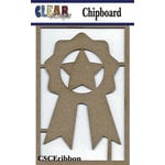 Clear Scraps - Chipboard Embellishments - Ribbons Tree