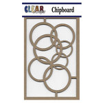 Clear Scraps - Chipboard Embellishments - Rings
