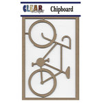 Clear Scraps - Chipboard Embellishments - Ten Speed Bike