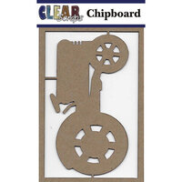 Clear Scraps - Chipboard Embellishments - Tractor