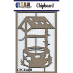 Clear Scraps - Chipboard Embellishments - Wish Well