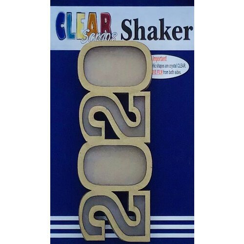 Clear Scraps - Shakers - 2020