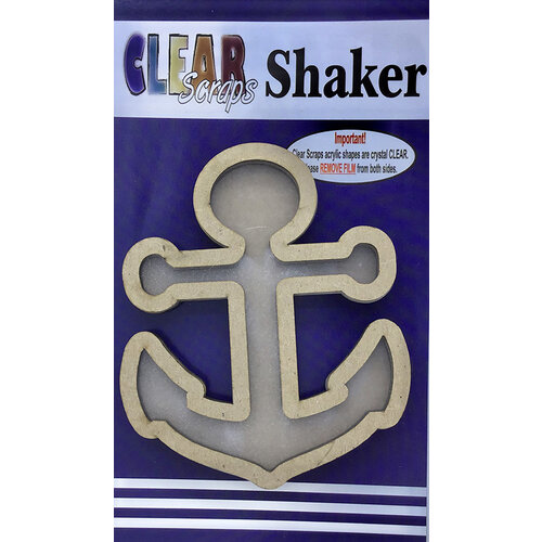 Clear Scraps - Shakers - Anchor