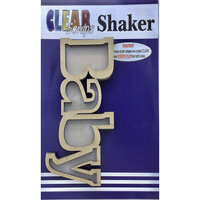 Clear Scraps - Shakers - Baby