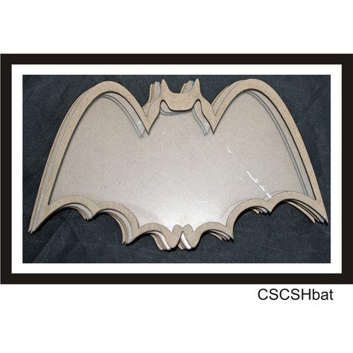 Clear Scraps - Halloween - Shakers - Bat