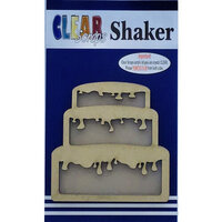 Clear Scraps - Shakers - Birthday Cake