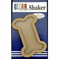 Clear Scraps - Shakers - Dog Bone