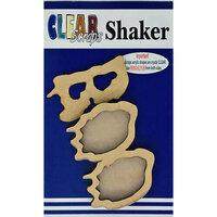 Clear Scraps - Halloween - Shakers - Boo
