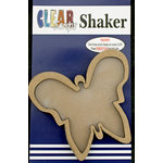 Clear Scraps - Shakers - Butterfly