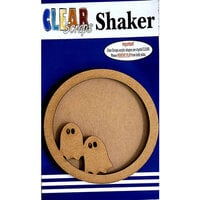 Clear Scraps - Shakers - Circle Ghost