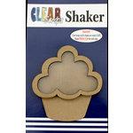 Clear Scraps - Shakers - Cupcake