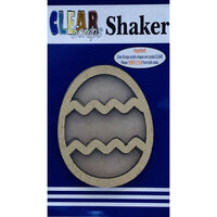 Clear Scraps - Shakers - Easter Egg