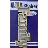 Clear Scraps - Shakers - Family