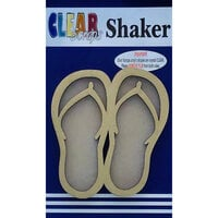 Clear Scraps - Shakers - Flip Flops