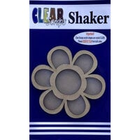 Clear Scraps - Shakers - Flower