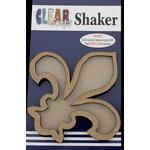 Clear Scraps - Shakers - Fleur D Lis