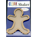 Clear Scraps - Christmas - Shakers - Gingerbread Man