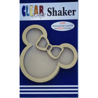 Clear Scraps - Shakers - Girly Mouse