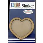 Clear Scraps - Shakers - Heart