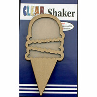 Clear Scraps - Shakers - Ice Cream Cone
