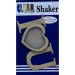 Clear Scraps - Shakers - I Heart You