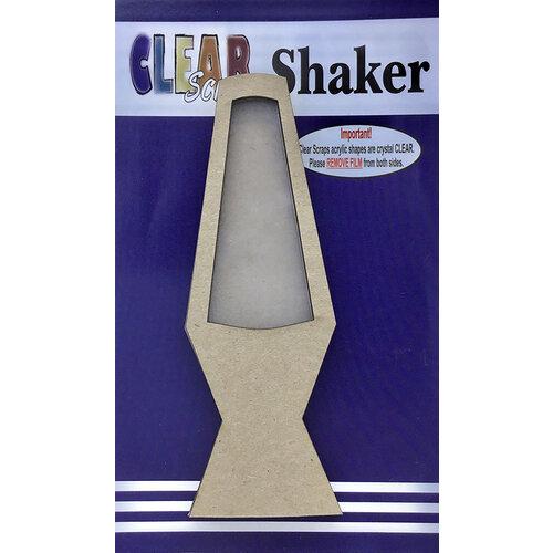 Clear Scraps - Shakers - Lava Lamp