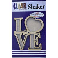 Clear Scraps - Shakers - Love