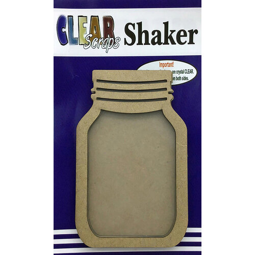 Clear Scraps - Shakers - Mason Jar