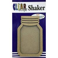 Clear Scraps - Shakers - Mason Jar