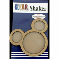 Clear Scraps - Shakers - Mouse Head