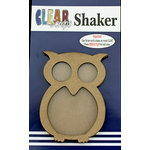 Clear Scraps - Shakers - Owl