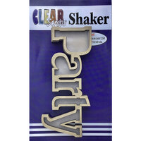 Clear Scraps - Shakers - Party