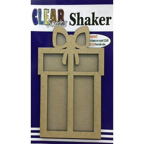 Clear Scraps - Shakers - Present
