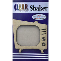 Clear Scraps - Shakers - Retro TV