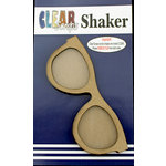 Clear Scraps - Shakers - Sun Glasses