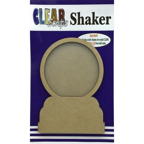 Clear Scraps - Shakers - Snow Globe