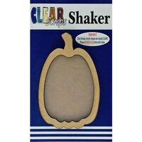 Clear Scraps - Halloween - Shakers - Pumpkin