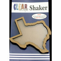 Clear Scraps - Shakers - Texas