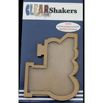 Clear Scraps - Shakers - Train