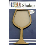 Clear Scraps - Shakers - Wineglass