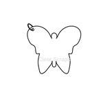 Clear Scraps - Clear Album - Mini Butterfly