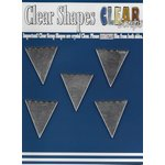 Clear Scraps - Mirror Embellishments - Banners