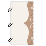 Clear Scraps - Acrylic and Chipboard Album - Mixables - Showy