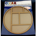 Clear Scraps - 12 x 12 Printer Tray - Circle